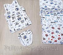 """Комплект нижнего белья на мальчика размеры 26-34 (4 цв)  """"MARI"""" купить оптом в Одессе на 7 км"""