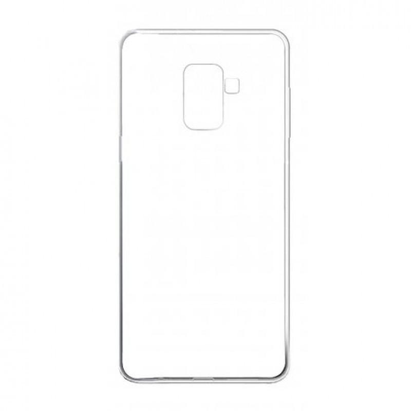 Чехол SMTT для Samsung Galaxy A730 A8 Plus 2018 Прозрачный