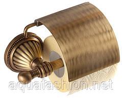 Бронзовий тримач туалетного паперу Hestia antique KUGU 911A