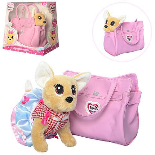 Собачка в сумочке Кикки  M 3219 Розовая Фантазия  (аналог Chi Chi Love)