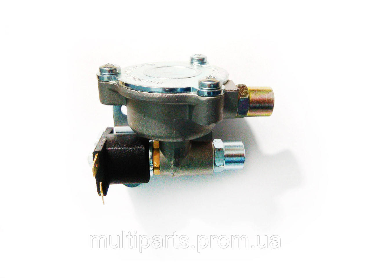 Электромагнитный клапан газа Torelli алюминий вх. вых. 6 мм