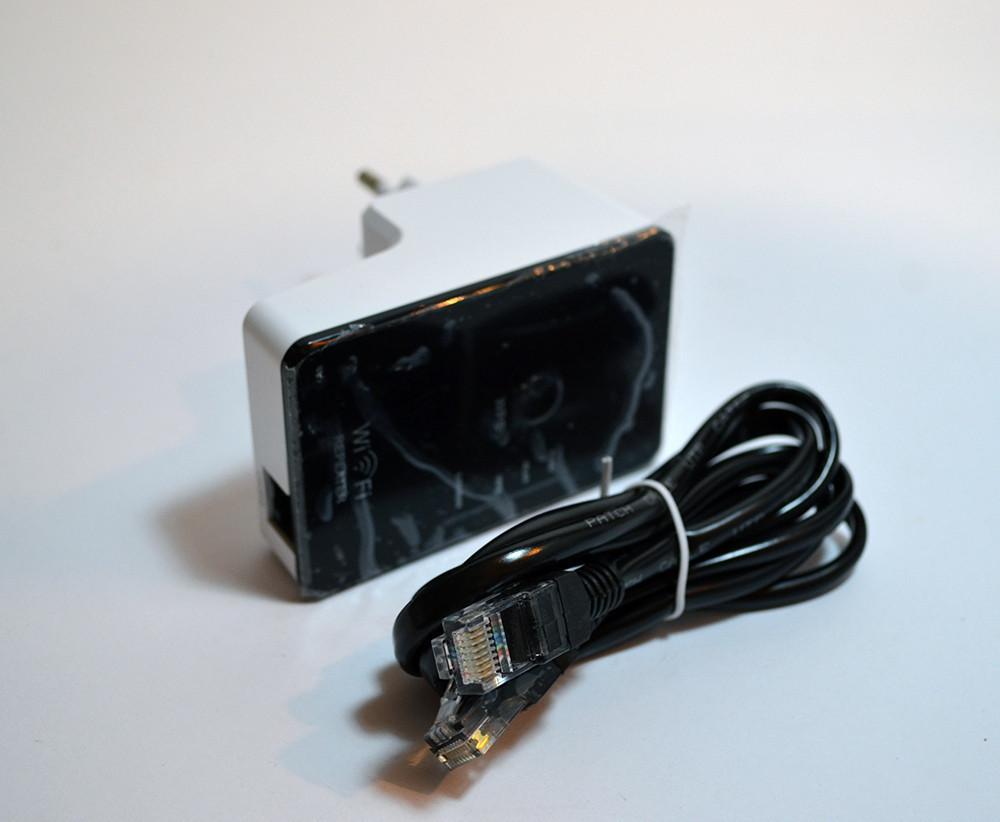 Роутер маршрутизатор Wi fi repeater with EU plug LV-WR 04 (белая коробка)