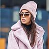 Молодіжна в'язана шапка-біні різних кольорів з люрексом, фото 3