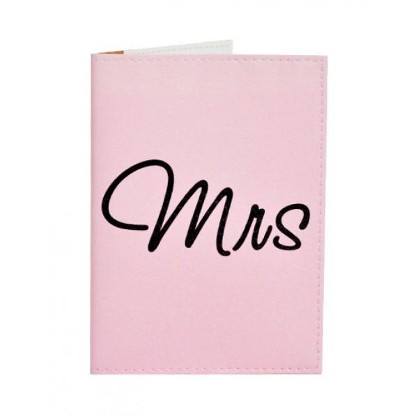 Обложка для паспорта Mrs&Mr