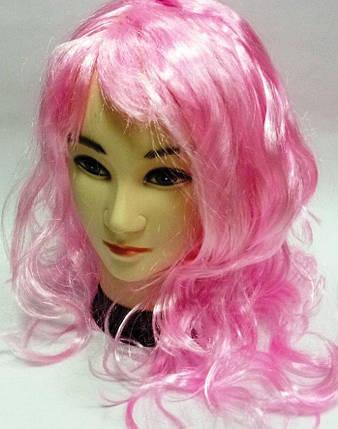 Парик розовый, фото 2