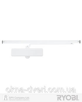 Доводчик накладного типа белый RYOBI *8800 S-8850T WHITE SLD_HO_ARM EN_2 45кг 900мм
