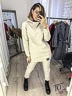 Женский утепленный спортивный костюм / трехнитка на флисе / Украина 14-714, фото 1