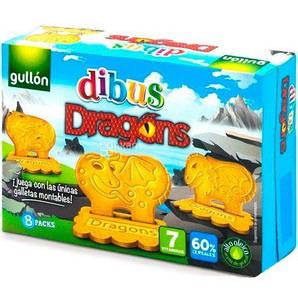 Печенье GULLON DIBUS Dragons, 300 г