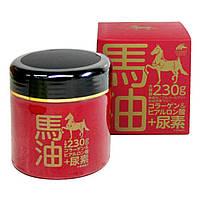 Питание и увлажнение для сухой кожи всего тела Horse Oil Cream + Urea 230 г Япония