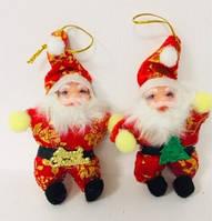 Подвесной Санта Клаус 15 см (12 шт)