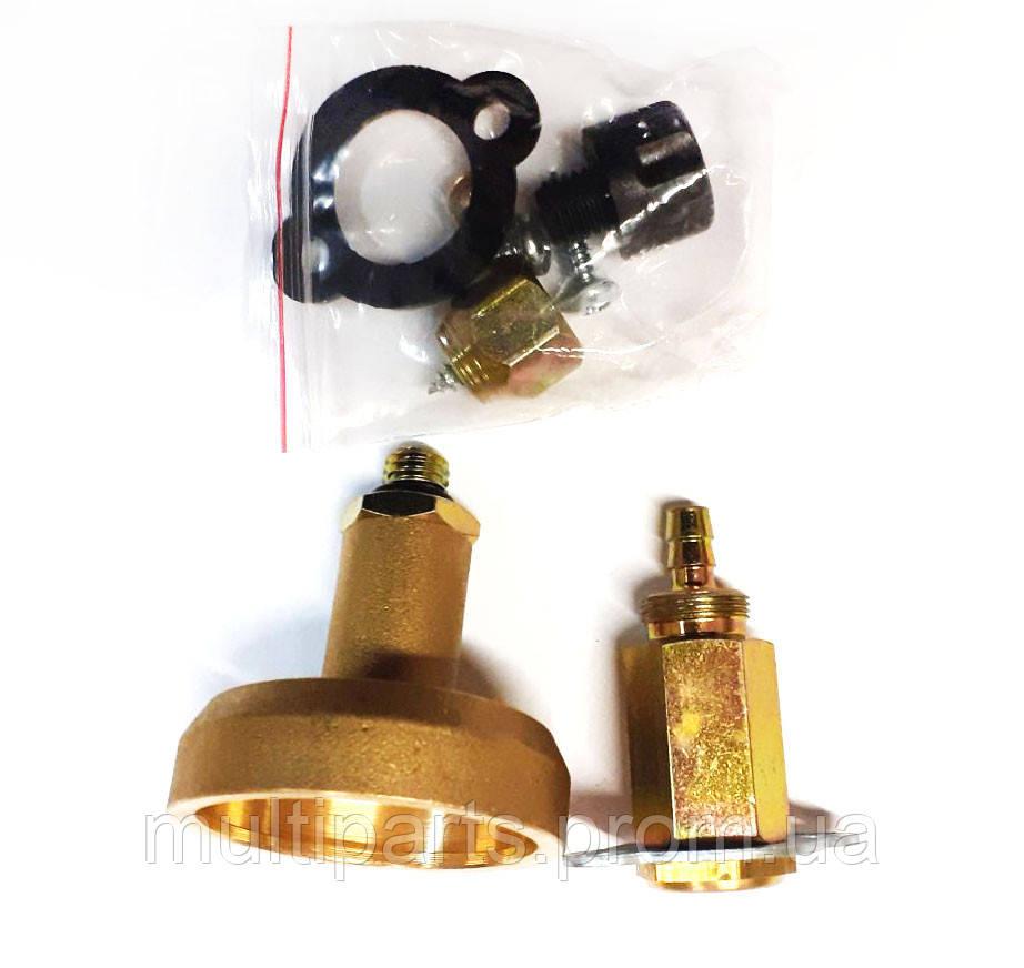 Врезное заправочное устройство ASTAR GAS (ВЗУ в лючок) короткое под термопластик