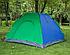 Туристическая палатка автомат  Leomax  2,5*2 метра, 4-х местная, Зеленая, фото 2