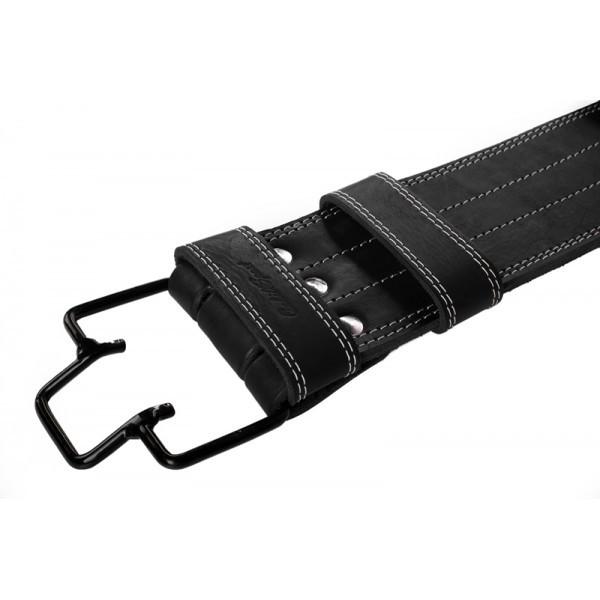 Пояс для пауерліфтингу зі скобою шкіряний 3 шари Onhillsport розмір XL (OS-0365-4)