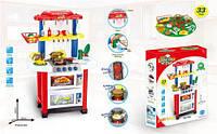 Игровой набор кухня с краном с подсветкой и звуком на батарейках