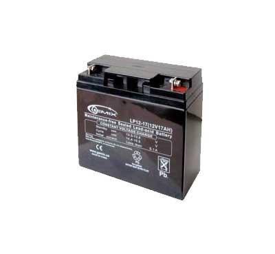 Аккумулятор для ИБП 12В 17Ач Gemix LP12-17 181,5х77х167,5 мм, фото 2