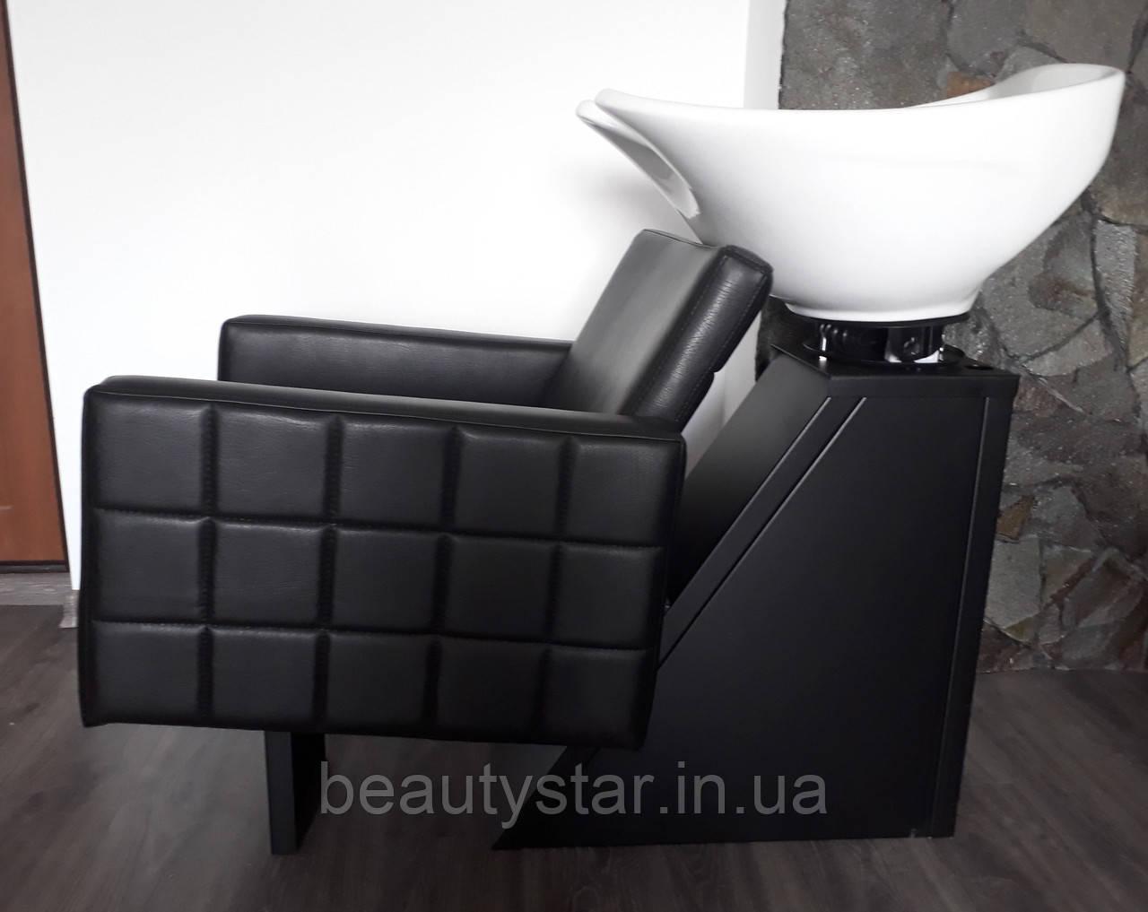 Крісла Мийки для перукарень мийка Shelley з кріслом Dioni компактних розмірів: 64х96х110см