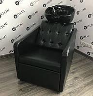 Парикмахерская кресло мойка удобная Cardinal. Керамика Young Польша