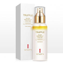 Омолаживающий спрей для лица VENZEN TRUFFLE RELIEVE BRIGHTEN UP MOISTURE  White Trufile Essential Oil Liquid с маслом белого трюфеля 110 мл