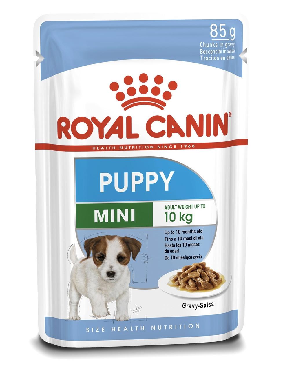 Влажный корм для щенков Royal Canin Mini Puppy для малых пород 85 г