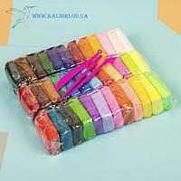 Воздушный, лёгкий пластилин, масса для лепки 36 цвета