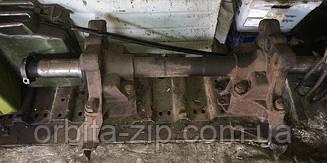 5511-2918050 Ось балансира задней подвески КАМАЗ с кронштейнами 5320-2918055/56 (86,5мм) (2-й сорт)