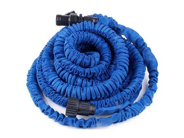 Шланг растягивающийся x-hose 22,5 м удлиняющийся Икс Хоз Покет Хос с поливочной насадкой