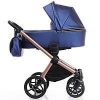 Детская коляска 2 в 1 Invictus V-Dream Lux Blue Cooper, фото 1