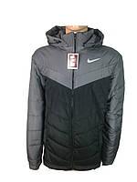 Мужские куртки осень-весна  прямые,на синтепоне размер 46-52,с отстегивающем капюшоном