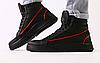 Ботинки мужские зимние черные из натуральной кожи