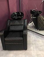 Кресло - Мойка парикмахерская Lux Ambassador. Керамика Young Польша