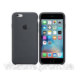 Чехол Silicone Case для iPhone 6  Серый