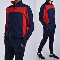 Мужской спортивный костюм Under Armour / Трикотаж пике (лакост) / Размеры: 46,48,50,52 - темно-синий