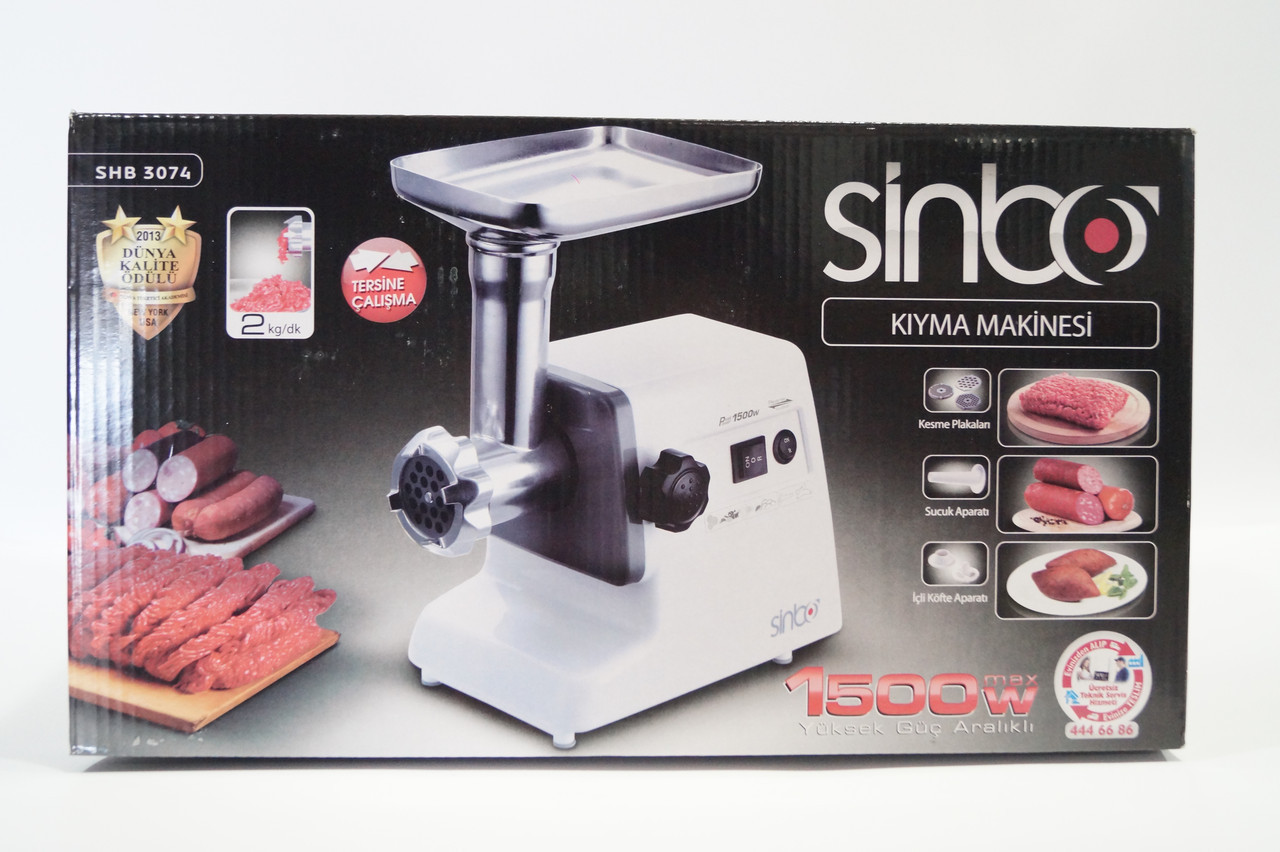 Электро мясорубка SINBO SHB 3074 1500w