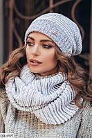 Набор: Шапка + шарф DD-6997
