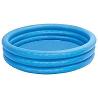 Детский надувной бассейн Intex 58446 «Кристалл» (168*38  см)
