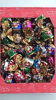 Конфеты  с «хрустящими» начинками кокос, миндаль, грецкий орех, ваниль и апельсин Baron 1 кг, фото 1