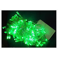 Гирлянда LED 300 (17м, белая) Зеленый