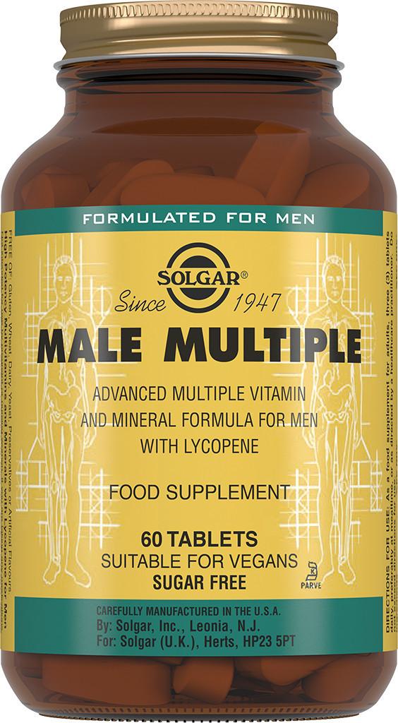 Комплекс витаминов для мужчин  Solgar Солгар №60