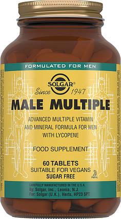 Комплекс витаминов для мужчин  Solgar Солгар №60, фото 2