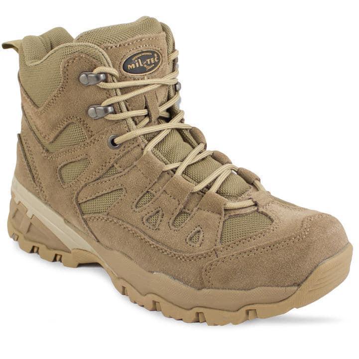 Заниженные ботинки тактические Miltec Trooper 5inch койот