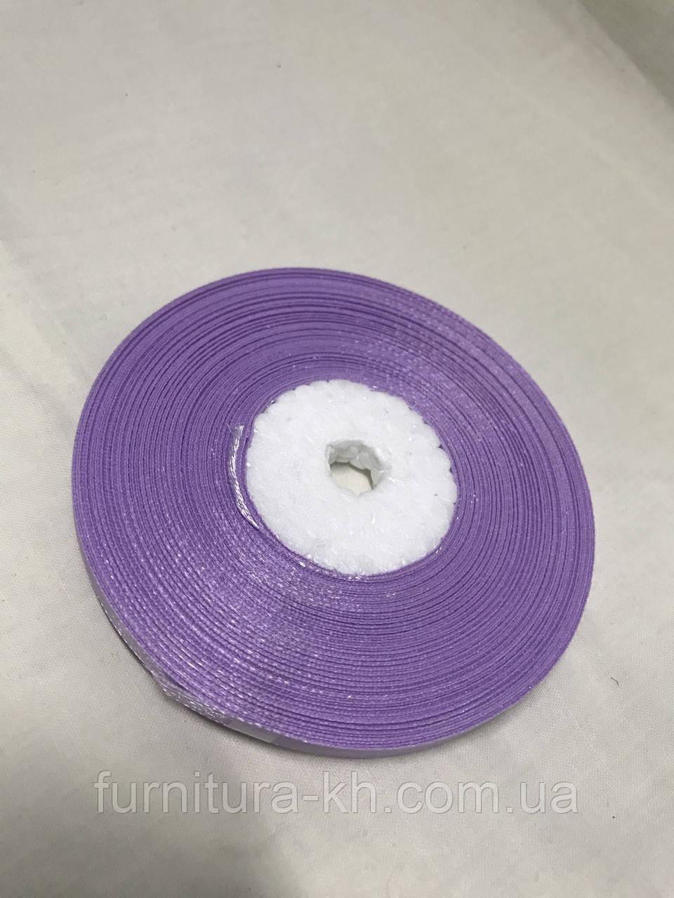 Лента атласная,ширина 0,5 см (33 м ) цвет светло-сиреневый