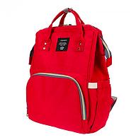 Сумка-рюкзак органайзер для мамы оригинал Mom Bag ( Красная ORIGINAL )
