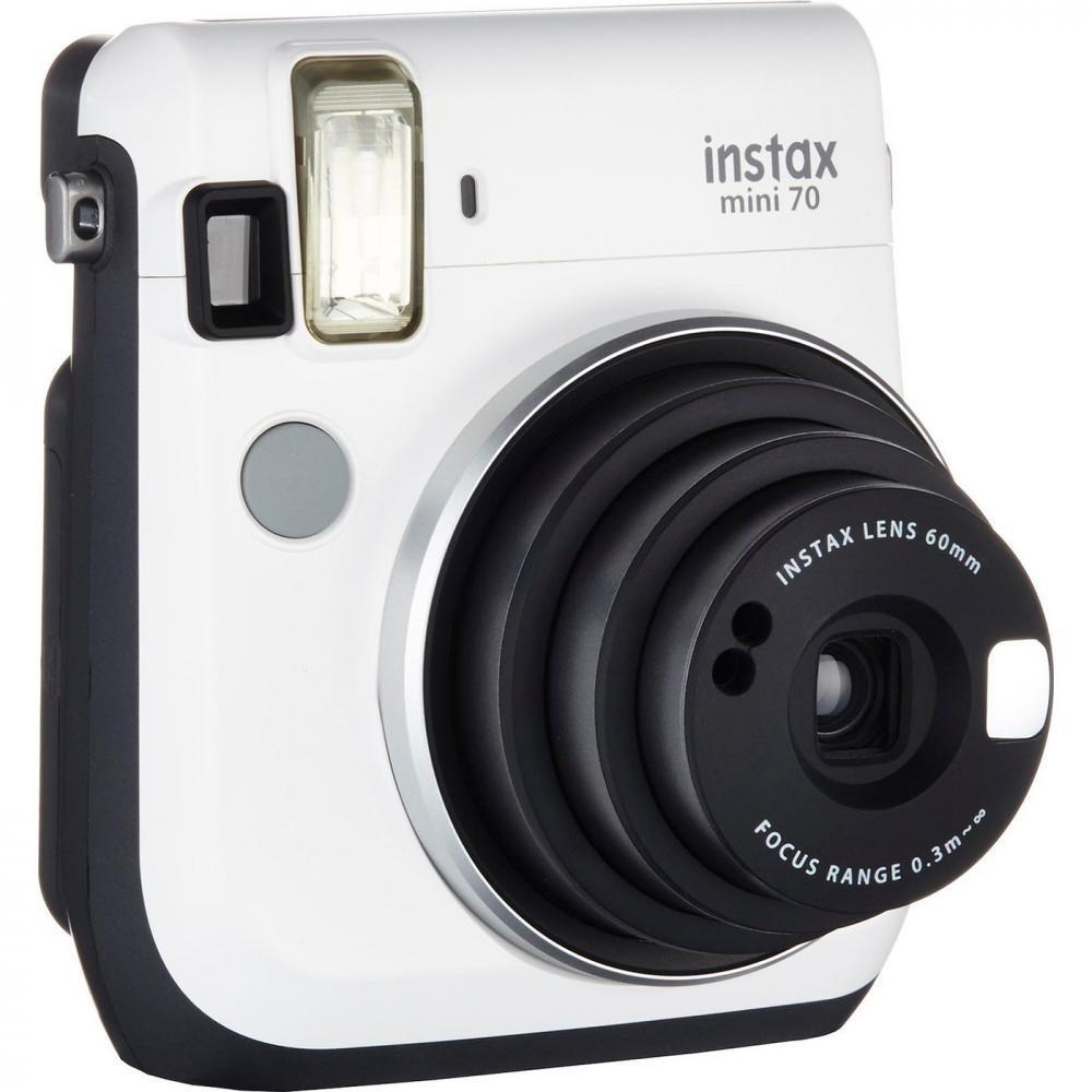 Фотокамера моментальной печати Fujifilm Instax Mini 70 White EX D