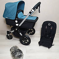 Детская коляска Bugaboo Cameleon 3 Petrol Blue Бугабу Камелеон