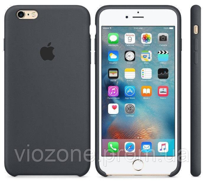 Чехол Silicone Case для iPhone 6 Plus Серый