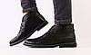 Ботинки Hilfiger мужские зимние черные из натуральной кожи