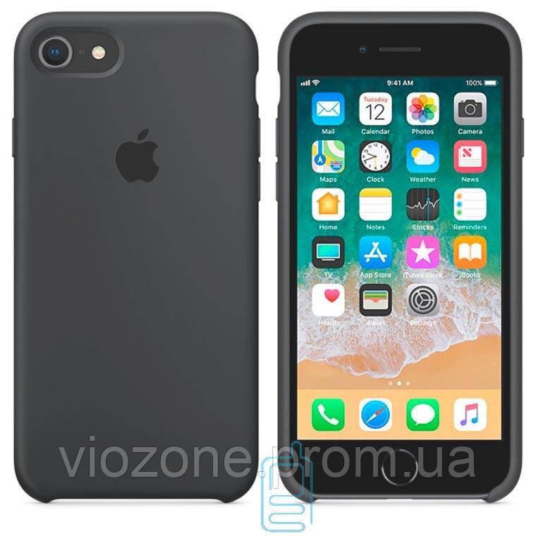 Чехол Silicone Case для iPhone 7 Серый