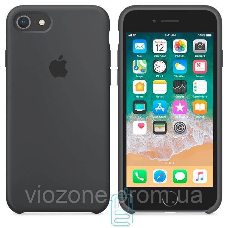 Чехол Silicone Case для iPhone 8 Серый
