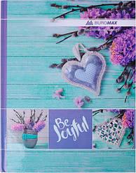 """Книга учета """"ROMANTIC"""" 96 листов/клетка, офисная, А4, бирюзовая BM2400-306"""