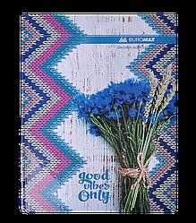 """Книга учета """"ROMANTIC"""" 96 листов/клетка, офисная, А4, синяя BM2400-302"""